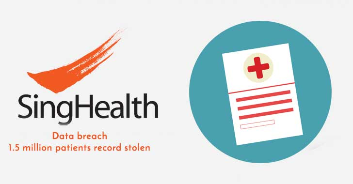 Singapore's Largest Healthcare Group Hacked, 1.5 Million Patient Records Stolen